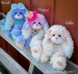 "Bindi - 12"" Hand-Dyed Kid Mohair Bunny by Emma's Bears - OOAK"