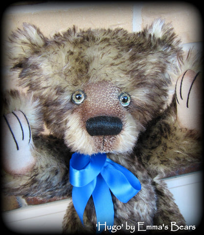 Hugo - 16IN old mohair artist bear by Emmas Bears - OOAK