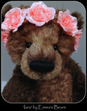 Iara - 18IN large kid mohair bear by Emmas Bears - OOAK