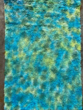 Textured Viscose - Hand Dyed Wilderness - Fat 1/8m - SEP107