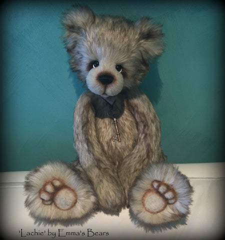 "Digital PATTERN - 19"" Kanoa Bear"