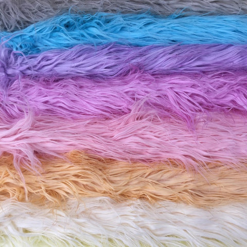 SALE Hand Dyed Super Long Pile Faux Fur - 4 colours left
