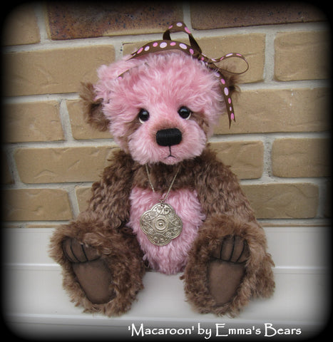 "PATTERN - 16"" Lyric bear (make 3 different bears from one pattern)"