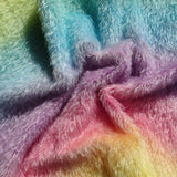 Errol Mohair - Hand Dyed Rainbow Arch - Fat 1/4m -  MAY088