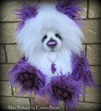 "Miss Behave - 18"" faux fur artist bear  - OOAK by Emma's Bears"