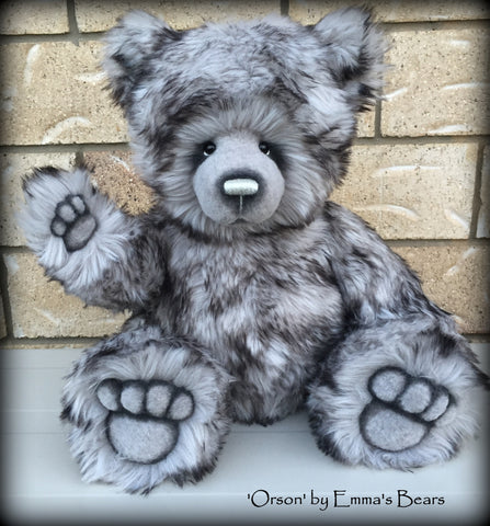 Orson - 18in Faux Fur Artist Bear by Emmas Bears - OOAK