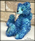 "KITS - 14"" Pisces curly kid mohair bear"