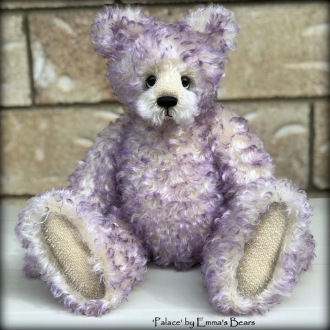 "KITS - 14"" Palace curly kid mohair bear"