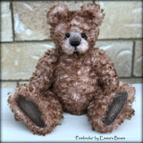 "Pembroke - 14"" curly kid mohair Artist Bear by Emmas Bears - OOAK"