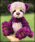 "Peony - 16"" curly kid mohair Artist Bear by Emmas Bears - OOAK"