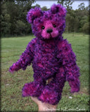 "KITS - 14"" Persephone curly kid mohair bear"