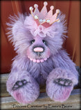 "Princess Carotine - 12"" hand dyed mohair bear by Emmas Bears - OOAK"