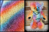 Bianca Mohair - Hand Dyed Fairy kisses - Fat 1/8m - MAR008