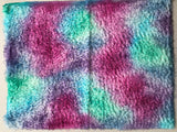 Crimped Mohair/Viscose - Hand Dyed Waterlily - Odd sized 1/4m - MAR013