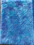Long Alpaca - Hand Dyed Blue Lagoon - Fat 1/8m - SEP023