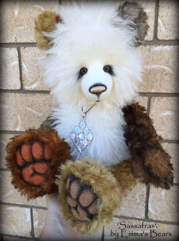 Sassafras - 19in MOHAIR Artist Bear by Emmas Bears - OOAK