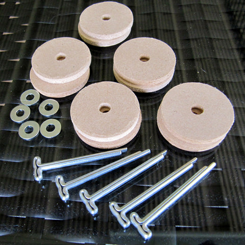 Special Huckleberry Bear T-Pin Joint Set