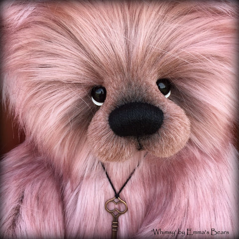 Whimsy - 20IN faux fur bear by Emmas Bears - OOAK