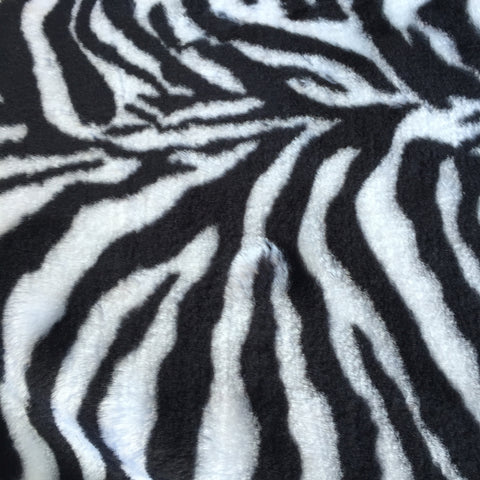 Zebra - Faux Fur