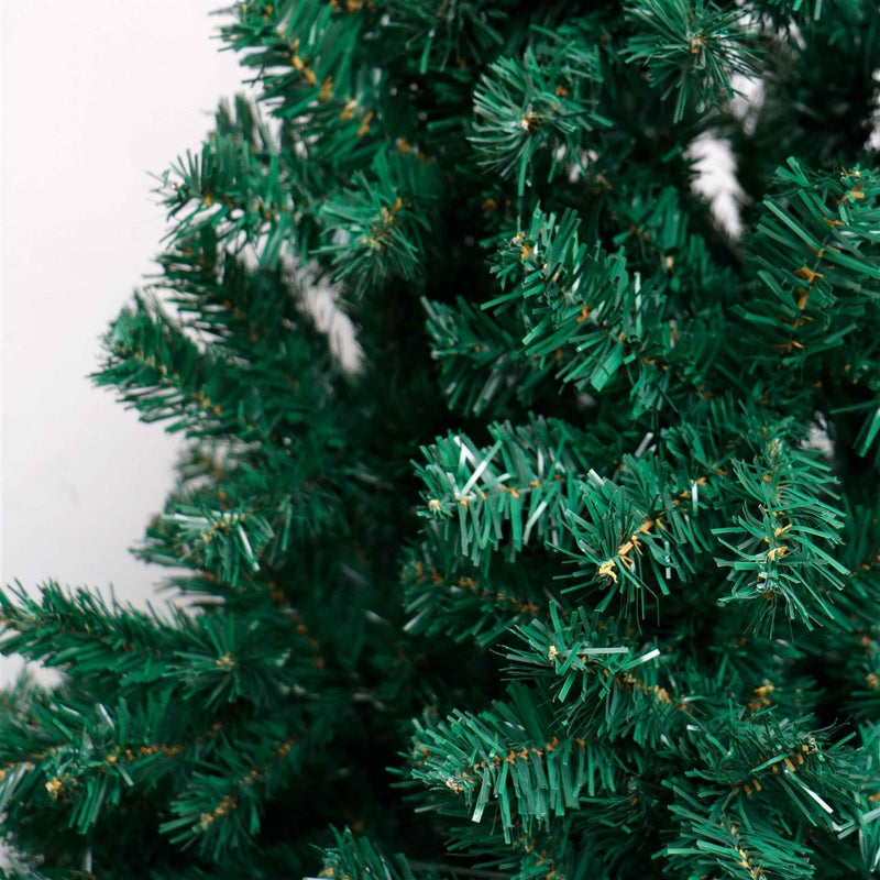 Artificial Indoor Christmas Holiday Tree - 7 Foot - Dark Green