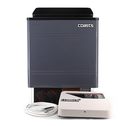 Coasts Sauna Heater for Spa Sauna Room - 9KW - 240V - CON 4 Outer Digital Controller