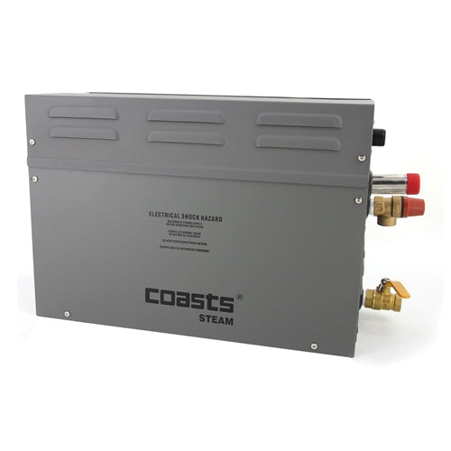 COASTS Steam Generator for Steam Saunas - KS120 Controller - AR4C - 4KW - 240V
