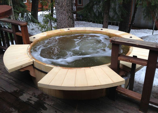 Alaskan Yellow Cedar Hot Tub