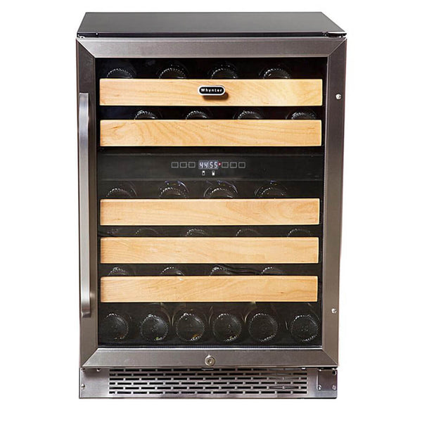 Whynter 46-Bottle Dual Temperature Zone Built-In Wine Refrigerator BWR-462DZ