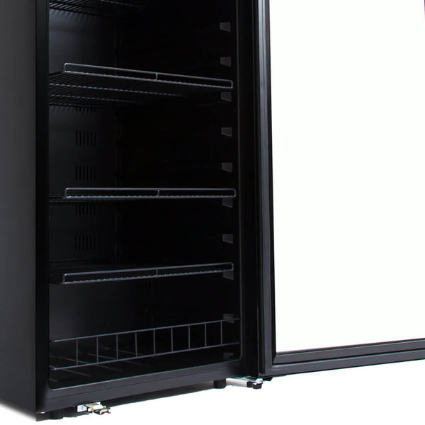 Whynter 124 Bottle Freestanding Wine Refrigerator FWC-1201BB
