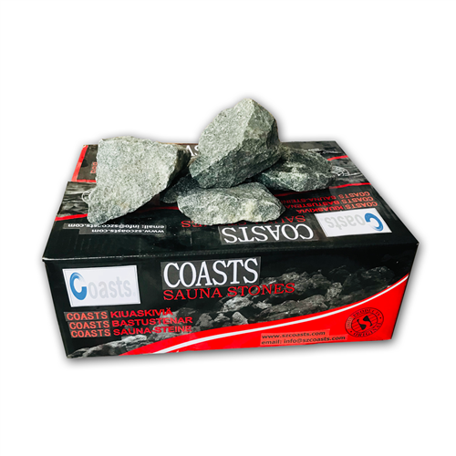 Coasts Sauna Heater Stones - Replacement - 40 Pounds