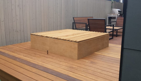 Western Red Cedar Roll Cover