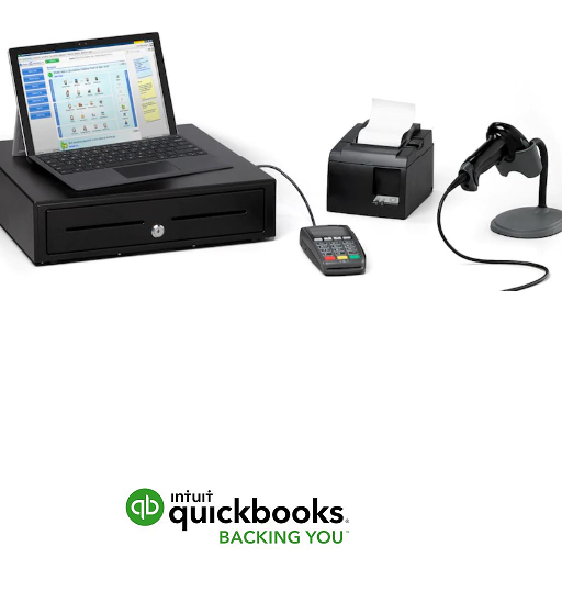 QB Point of Sale Hardware Bundle w/EMV Pin Pad - SBS Associates, Inc. provides QuickBooks® Solutions to Small Businesses