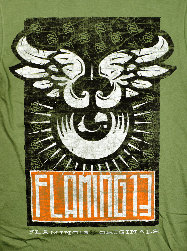 Flaming13 Tattoo Vintage Americana Inspired Apparel