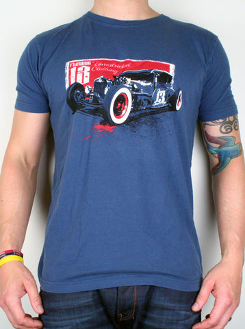 RatRod Blue - HURRY, LAST FEW! - Large Only