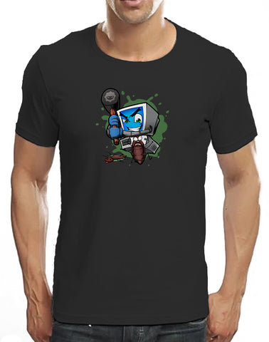 Classic Bug Smashing T-Shirt