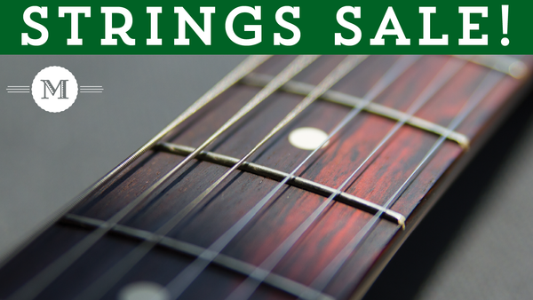 String Sale at Mass Street Music