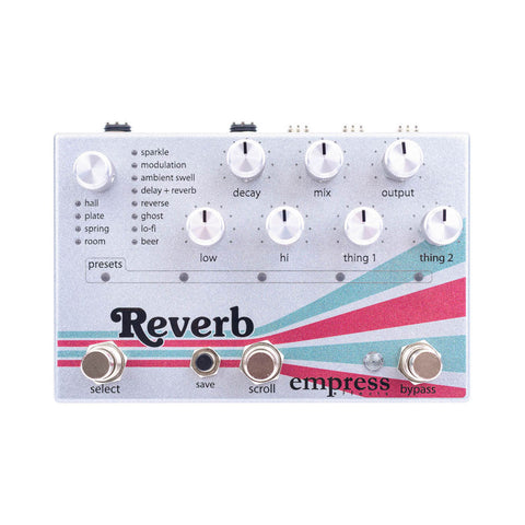 Empress Effects - Reverb