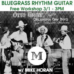Bluegrass Band graphic for Rhythm Guitar Workshop