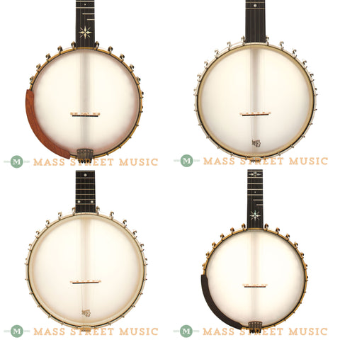 Open-back Banjos at Mass Street Music