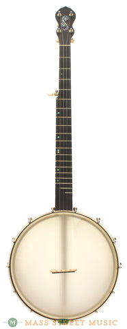 Chuck Lee Tubaphone banjo 12 open back