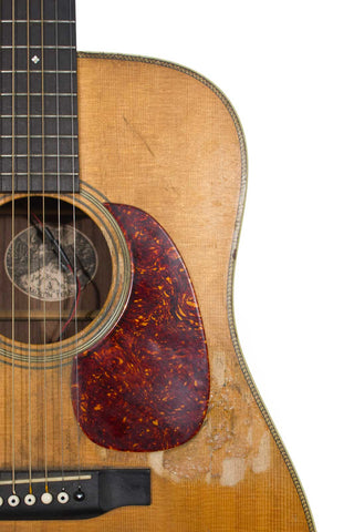 Collings D2H with superglue near soundhole