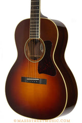 Collings C10 Deluxe acoustic burst finish - angle