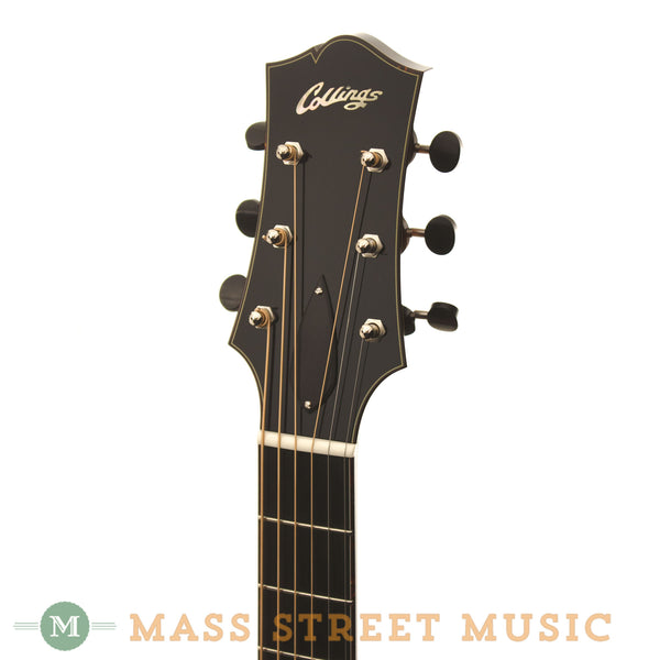 Custom Collings AT 16 at Mass Street Music - Headstock