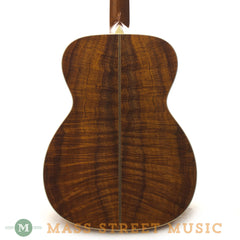 Collings Acoustic Guitars - OM2H Koa G SB Back