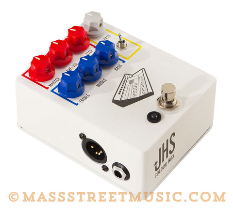 JHS Colour Box Pedal at Mass Street Music