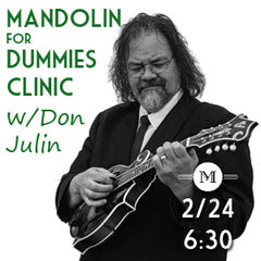 Don Julin Mandolin for Dummies workshop