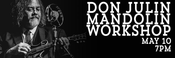 Don Julin Mandolin Workshop