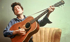 Young Bob Dylan with Guitar