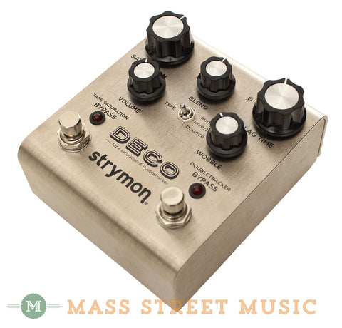 Strymon Deco Pedal at Mass Street Music