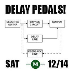 Delay Pedal workshop graphic